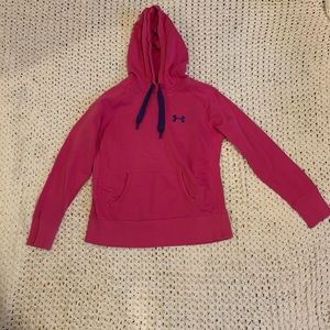 Under Armour UA Storm pink hoodie. Size medium